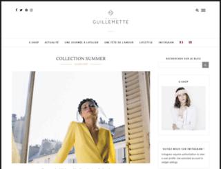 blog.maisonguillemette.com screenshot