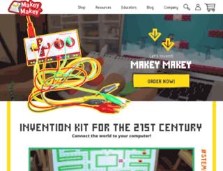 blog.makeymakey.com screenshot