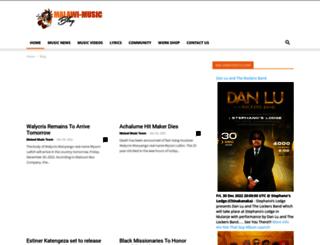 blog.malawi-music.com screenshot