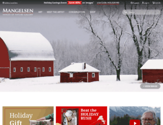 blog.mangelsen.com screenshot