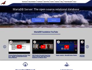 blog.mariadb.org screenshot
