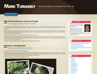 blog.markturansky.com screenshot