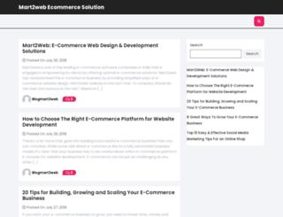 blog.mart2web.com screenshot