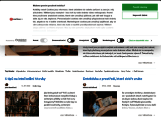 blog.martinus.cz screenshot
