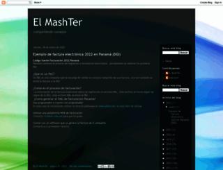 blog.mashter.com screenshot