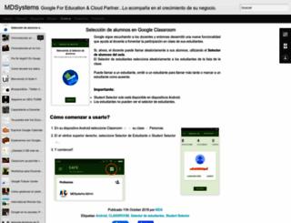blog.mdsystems.com.ar screenshot