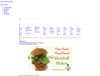 blog.mealsonheelsbymindy.com screenshot