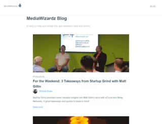 blog.mediawizardz.com screenshot