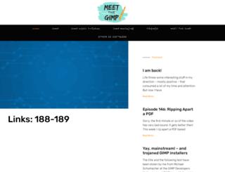 blog.meetthegimp.org screenshot