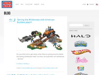 blog.megabloks.com screenshot