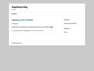 blog.megadosya.com screenshot