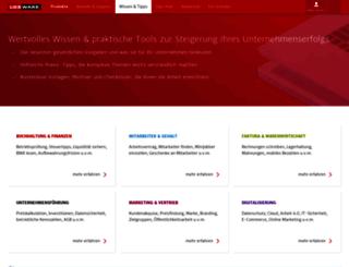 blog.meine-firma-und-ich.de screenshot