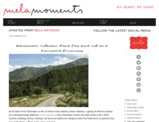 blog.melaartisans.com screenshot