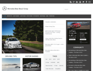 blog.mercedes-benzretailgroup.co.uk screenshot