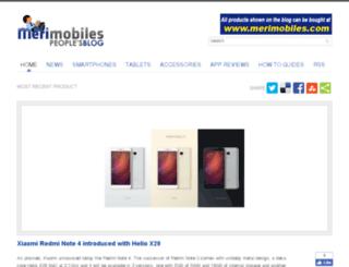 blog.merimobiles.com screenshot