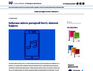 blog.mestierediscrivere.com screenshot