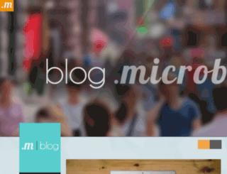 blog.microblr.com screenshot