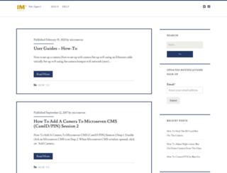 blog.microseven.com screenshot