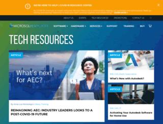 blog.microsolresources.com screenshot