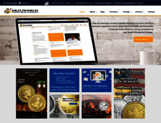 blog.milesfranklin.com screenshot