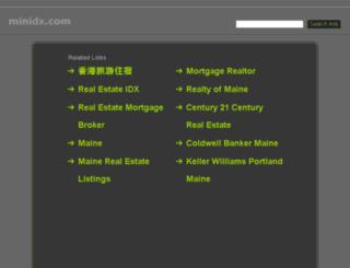 blog.minidx.com screenshot