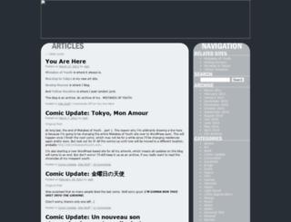 blog.mistakesofyouth.com screenshot