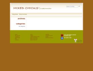 blog.mixedchicks.net screenshot