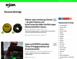blog.mjam.net screenshot