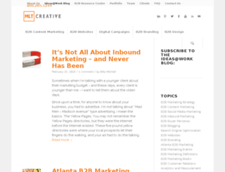 blog.mltcreative.com screenshot