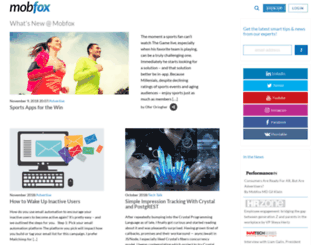 blog.mobfox.com screenshot