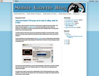 blog.mobilegazette.com screenshot