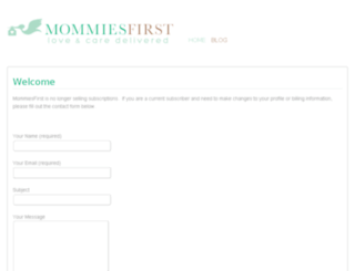 blog.mommiesfirst.com screenshot