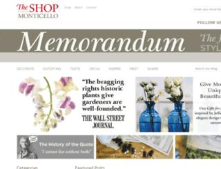 blog.monticelloshop.org screenshot