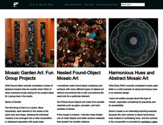blog.mosaicartsupply.com screenshot