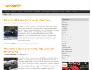 blog.motori.it screenshot