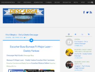 blog.mp3buscador.com screenshot