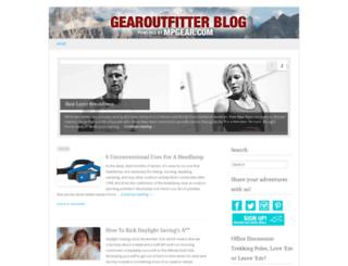 blog.mpgear.com screenshot