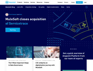 blog.mulesoft.com screenshot