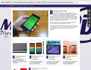 blog.mundopda.com screenshot