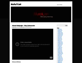 blog.muratcan25.com screenshot