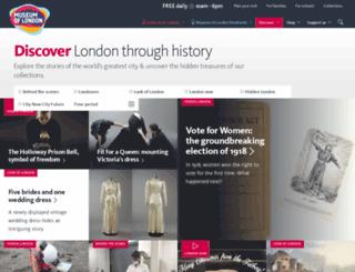 blog.museumoflondon.org.uk screenshot