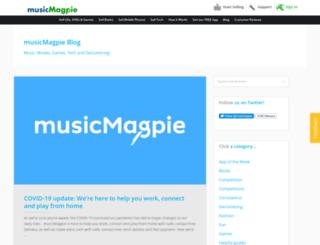 blog.musicmagpie.co.uk screenshot