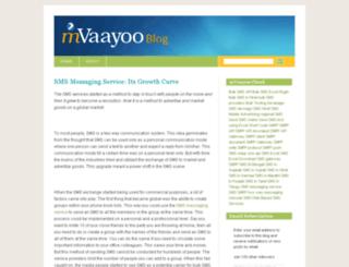blog.mvaayoo.com screenshot