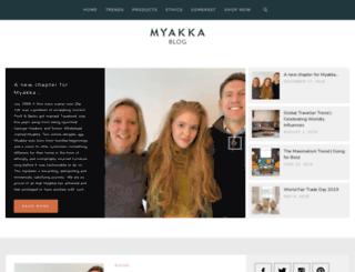 blog.myakka.co.uk screenshot