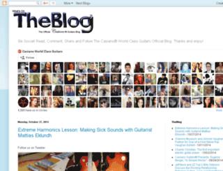 blog.mycasianoguitar.com screenshot