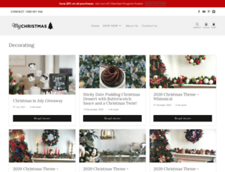 blog.mychristmas.com.au screenshot