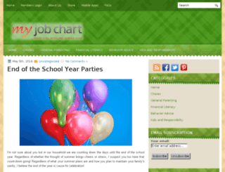 blog.myjobchart.com screenshot