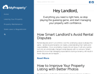 blog.myproperty.com screenshot