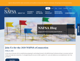 blog.nafsa.org screenshot