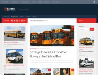 blog.nationalbus.com screenshot